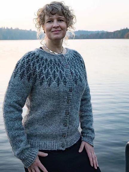 Hanne Rimmen Opskrift - PRISME Cardigan