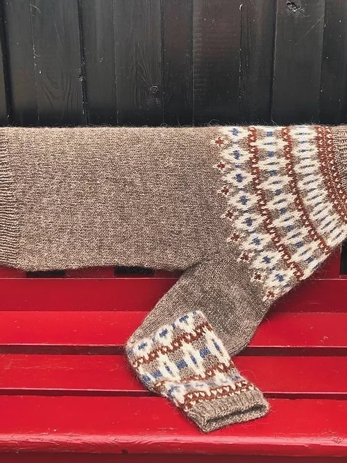 Hanne Rimmen Opskrift - RØMØ Sweater